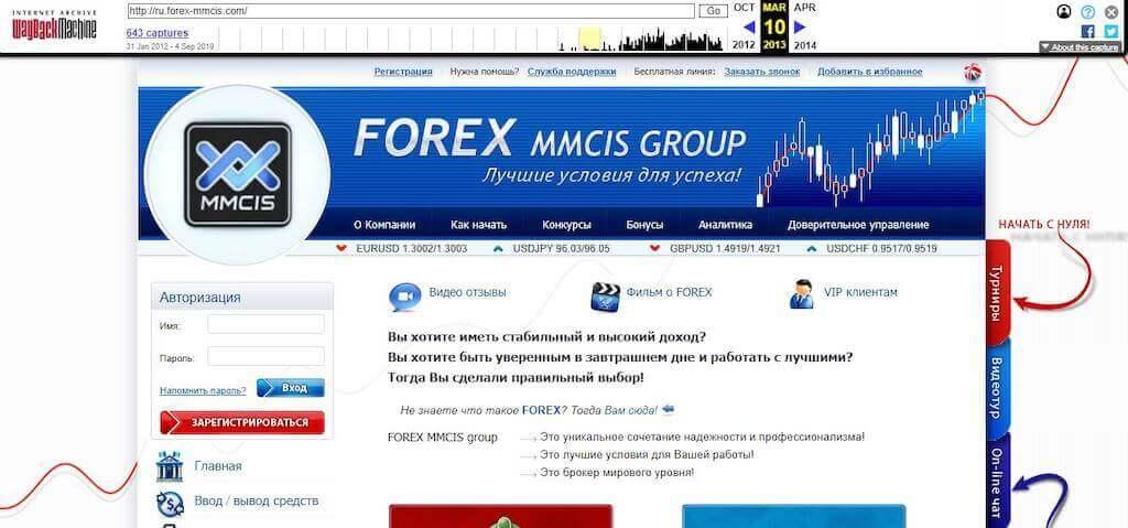 Отзывы о FOREX MMCIS group